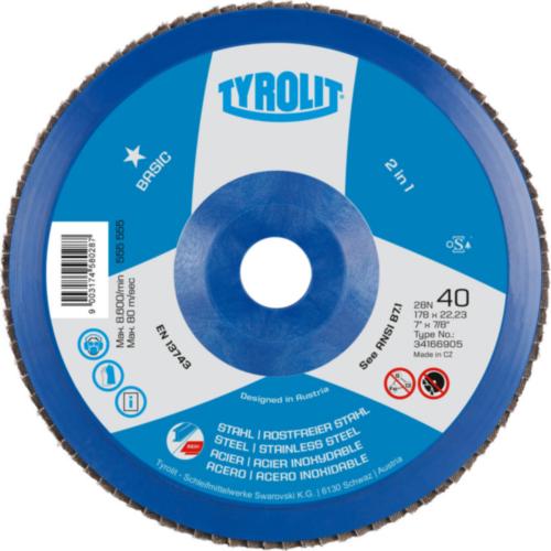 Tyrolit Flap disc 125X22,23 40
