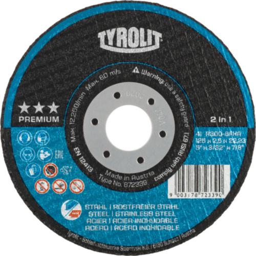 Tyrolit Cutting disc 125X1,0X22,23