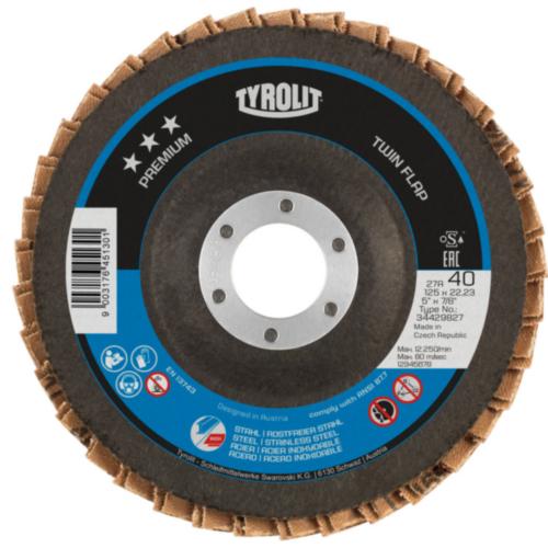 Tyrolit Flap disc ZACA 40 115 22,23