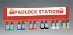 Brady Padlock station L