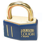 Brady Brass padlock 43MM KD BLUE 12PC