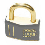 Brady Brass padlock 43MM KD GREY 12PC
