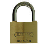 Brady Brass padlock 50MM HARD ST 6PC