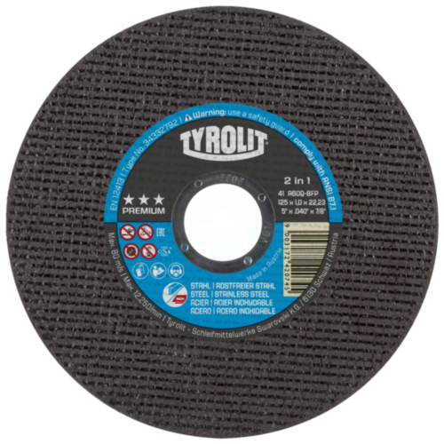 Tyrolit Cutting wheel 115X1,2X22,23