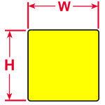 Brady Labels PTL-67-499-YL 750PC