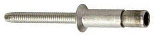 MONOBOLT Countersunk head open end structural blind rivet Zinc plated with thick Cr(III) passivation