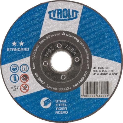 Tyrolit Disc de tăiere 367789 125X3,0X22,2MM