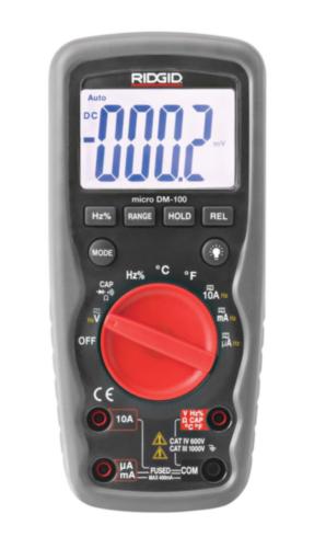 RIDG INSPECTIE APP  METER DIGITAL DM 100