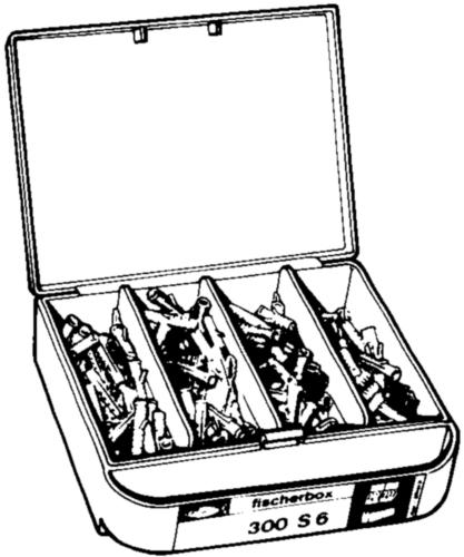 Assortiment chevilles  Plastique