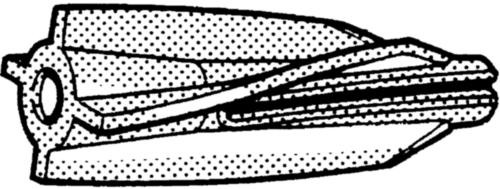 Aircrete anchor  Plastic  Nylon (polyamide)