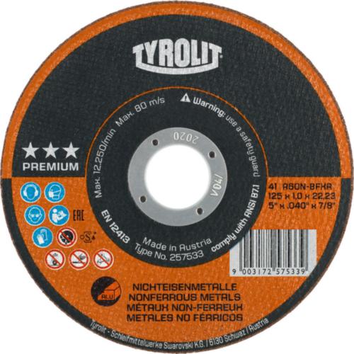 Tyrolit Disc de tăiere 39321 125X2,5X22,2