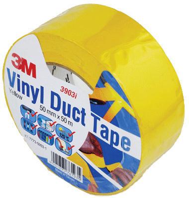 3M 3903 Vinyl tape Black 50MMX50M