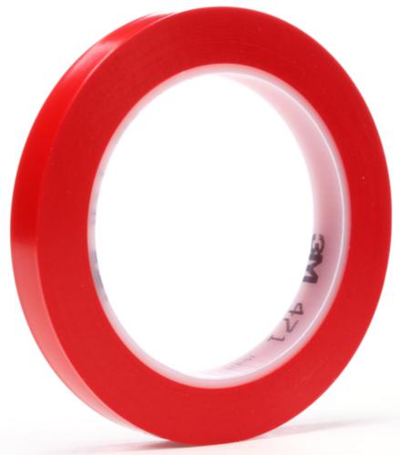 3M 471 Ruban de vinyle Rouge 12MMX33M