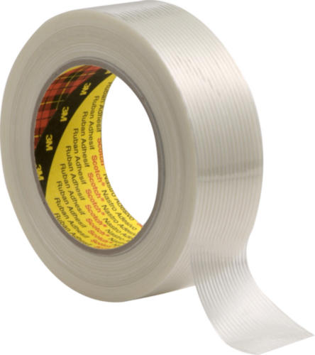 3M Filament tape 8956 Blanco 25MMX50M