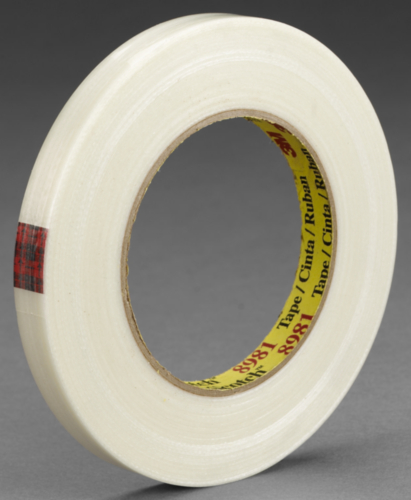 3M 8981 Bande Filament Transparent 15MMX50M
