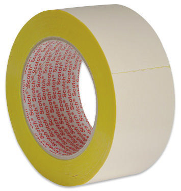 3M 9195 Tapijt tape Geel 50MMX25M