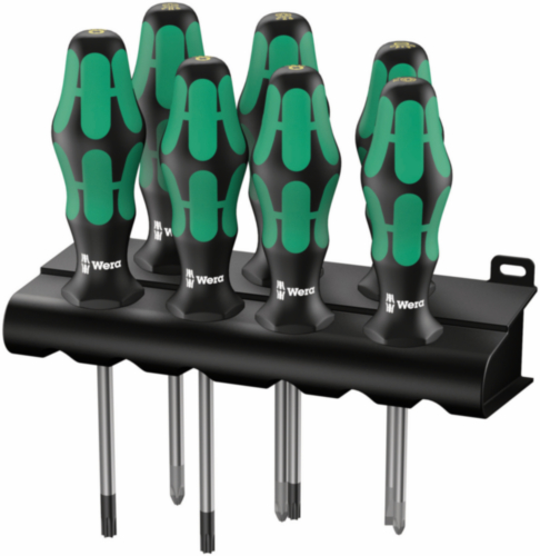 Wera Screwdriver sets 335/350/367/7 Lasertip 7PC