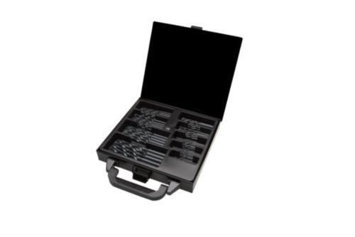 Metal drill set Cylindrical HSS-R Black 3-6X0,5(10)-8-10(5)