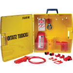 Brady Portable lockout station 811217
