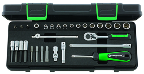Stahlwille Socket sets 40D/23/7K 40D/23/7K