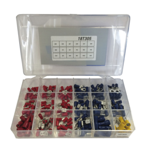 Assortments in plastic box