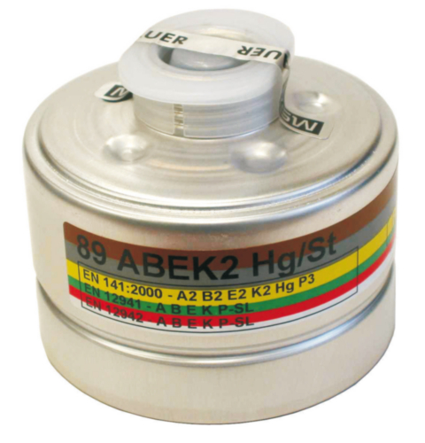 MSA Combi filter 93 93 93 A2B2E2K2HG-P3 R D A2B2E2K2Hg-P3 R D