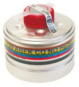 MSA Filter A1B2E2K1CONOHGP3 A1B2E2K1CONOHg-P3 R D