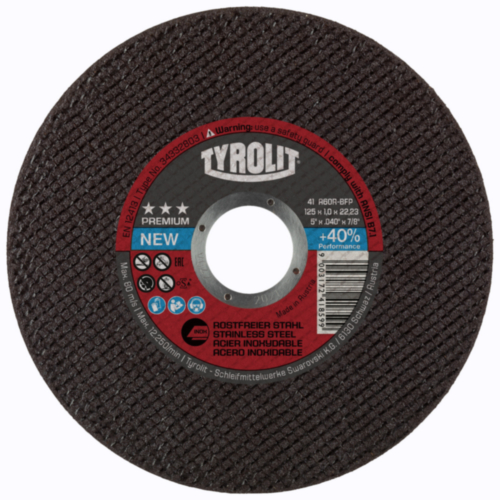 Tyrolit Cutting disc 125X1,0X22,23