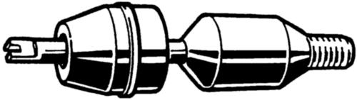 AMECOIL Neusstuk en draadstift voor indraai-handapparaat metrisch
