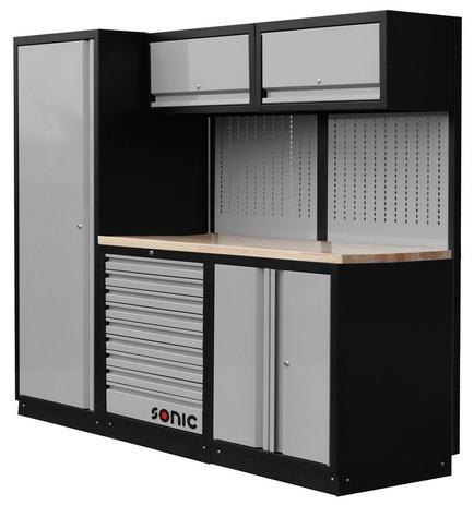 Sonic Equipo de garajes Storage setup 196CM 0196