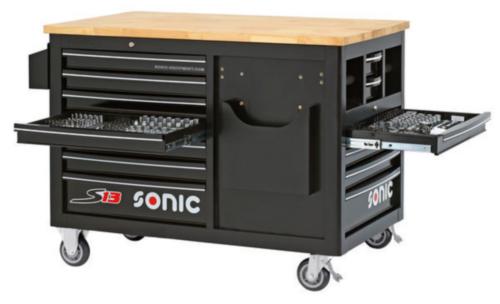 Sonic Wózki narzędziowe z wyposażeniem S13