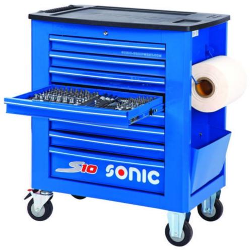 Sonic Wózki narzędziowe z wyposażeniem S10