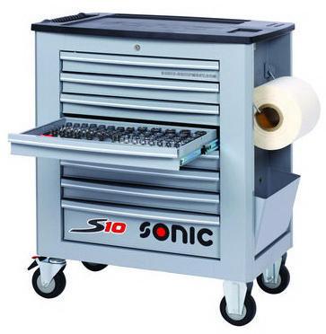 Sonic Tool trolley, full S10