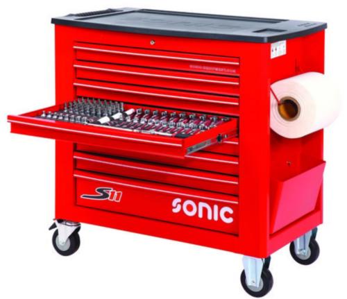 Sonic Wózki narzędziowe z wyposażeniem S11