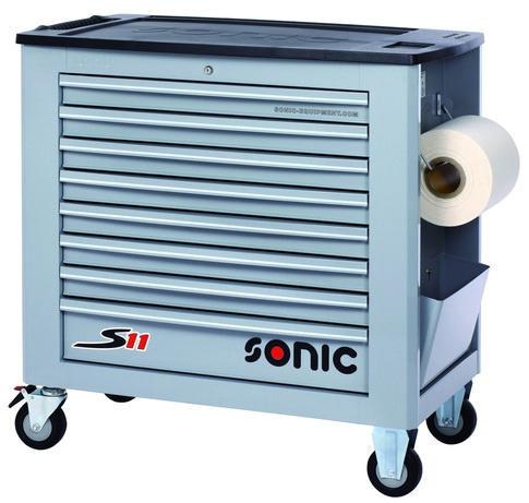 Sonic Wózki narzędziowe S11 RAL7040