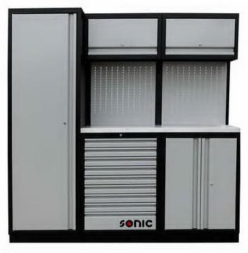 Sonic Equipo de garajes Storage setup 196CM 1196