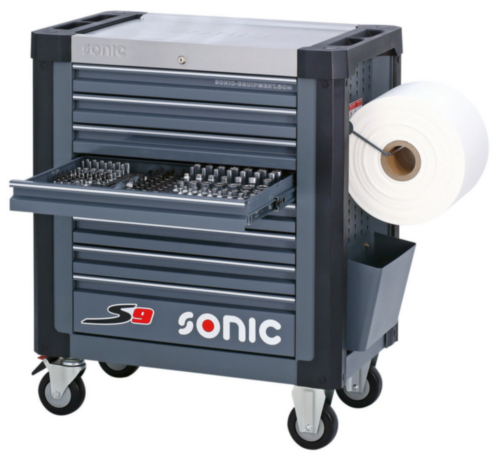 Sonic Tool trolley, full S9