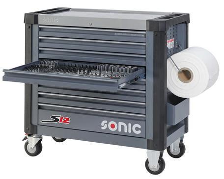 Sonic Wózki narzędziowe z wyposażeniem S12