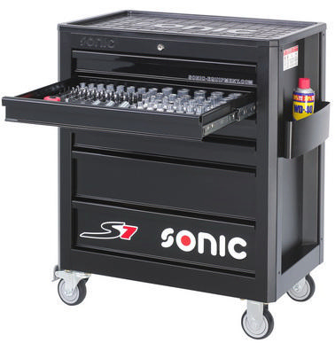 Sonic Tool trolley, full S7