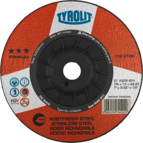 Tyrolit Deburring disc 230X7,0X22,23