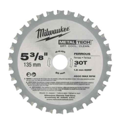 Milwaukee Lame de scie circulaire 135/20MM