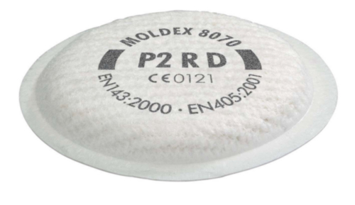Moldex Stoffilter 8070 P2 R D