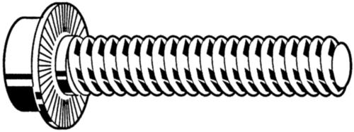 Vis de sécurité à tête cylindrique à six pans creux