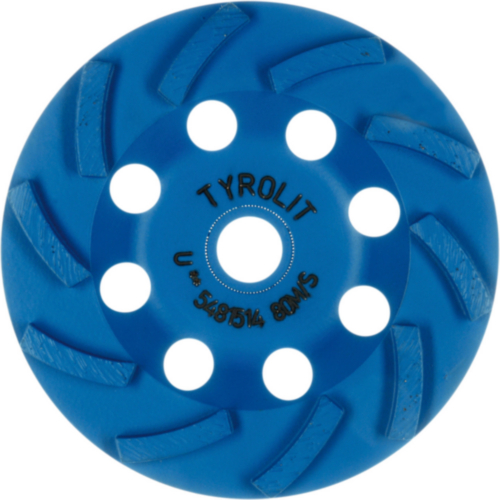 Tyrolit Diamond cup disc 100X18X22,23/16