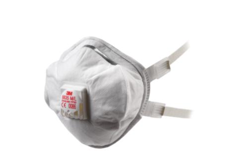 3M  Wegwerpmaskers met ventiel