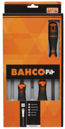 BAHC BAHCOFIT SCREWDRIVER SET B219.025