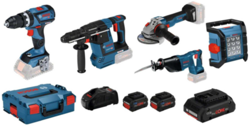 Bosch Combi set 5 TOOLKIT 18V