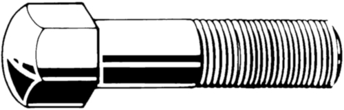 Trackshoe bolts