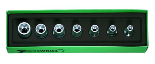 Stahlwille Socket sets 50TX/7 50TX/7