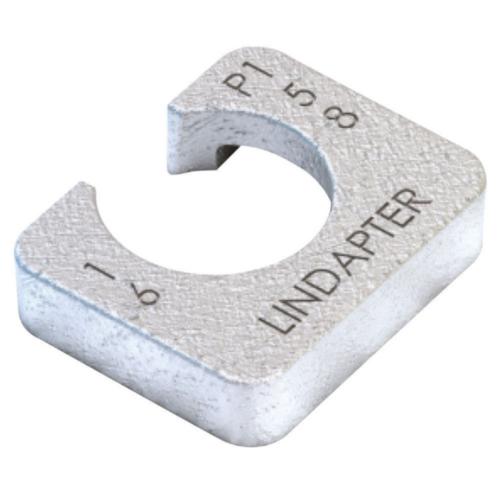 Lindapter Podpórki Stal Ocynkowane na gorąco P1 krótki